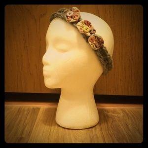 Handmade Boho Flower Headband